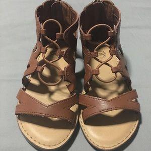 Wonder Nation Girls Gladiator Sandals
